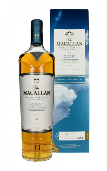 The Macallan QUEST Highland Single Malt Scotch Whisky 40% Vol. 1l in GB