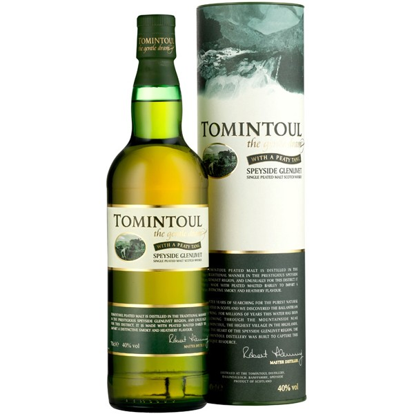 Tomintoul Peaty Tang Single Malt Whisky 0,7l 40% Vol.