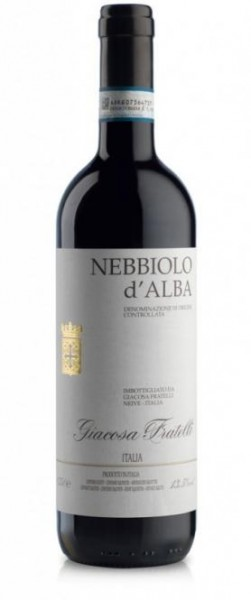 Nebbiolo d'Alba DOC Giacosa Fratelli Piemont