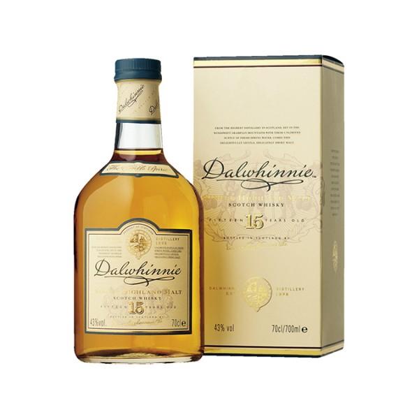 Dalwhinnie 15 Jahre Single malt Whisky 0,7l 43% Vol.