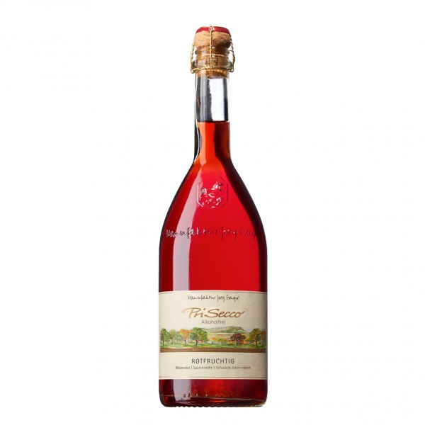 PriSecco Rotfruchtig, alkoholfrei 0,75l