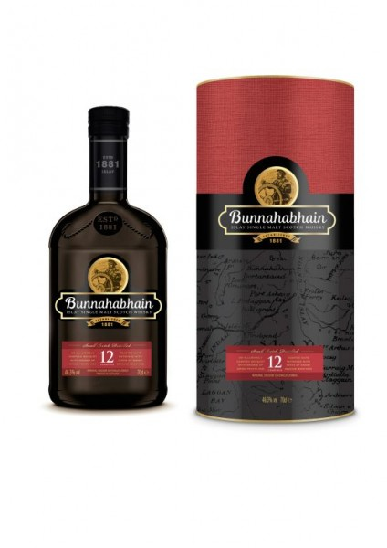 Bunnahabhain 12 Jahre Islay Single Malt Scotch Whisky 0,7l 46,3% Vol.