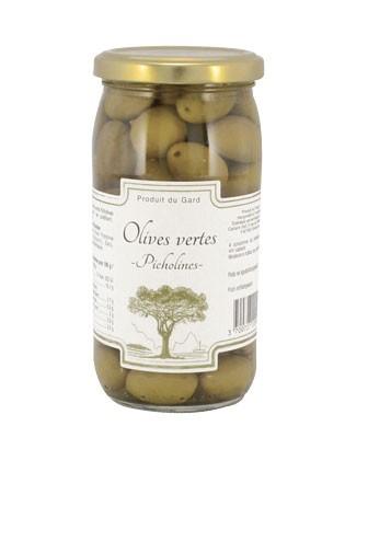 Grüne Oliven Picholine CARLANT 200 gr.