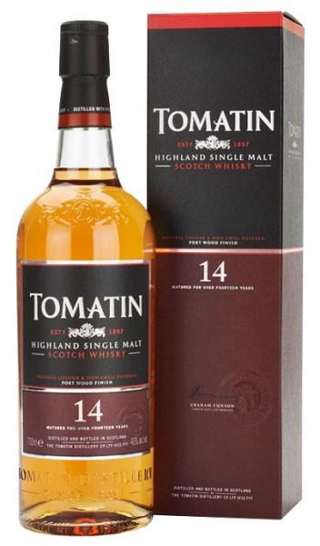 Tomatin Highland Single Malt Whisky 14 Jahre 46% Vol. 0,7l