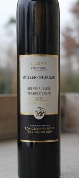Königschaffhauser Hasenberg Müller-Thurgau Beerenauslese 2011 0,375l