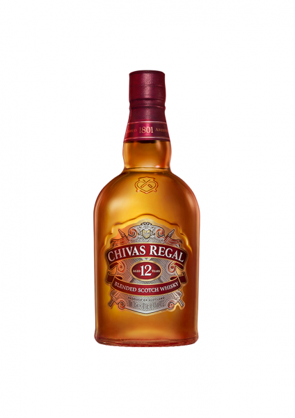Chival Regal Blended Scotch Whisky 12 Jahre 1l 40% Vol.