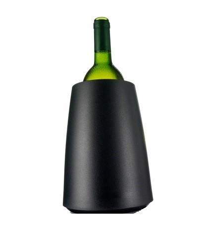 Rapid Ice Weinkühler Elegant Schwarz Vacu Vin