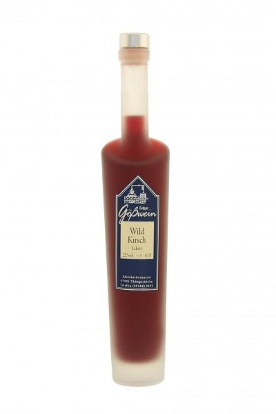 Wildkirsch Likör 22% 0,5l Gößwein