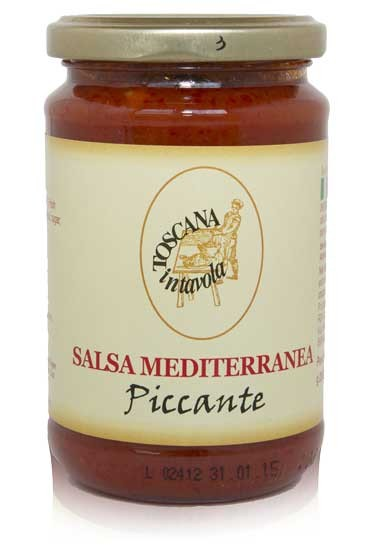 Salsa Mediterranea Piccante - Tomatensauce scharf 290 g