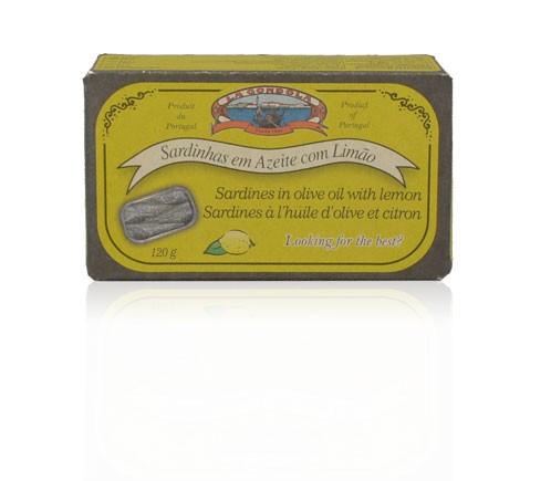 Sardinen in Olivenöl mit Zitrone La Gondola 84g