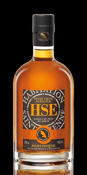 HSE Vieux VO Rhum Agricole 0,7l 42% Vol.