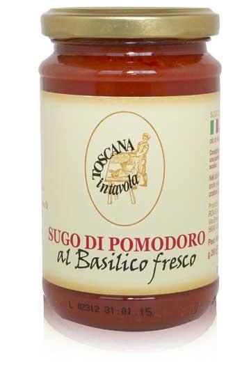 Salsa di Pomodoro al Basilico fresco - Tomatensauce mit Basilikum 290 g