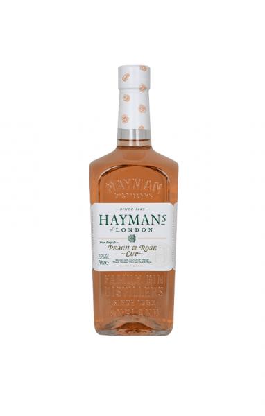 Hayman's Peach & Rose Cup 0,7l 25% Vol.