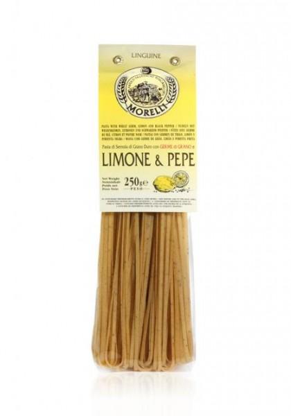 Linguine mit Limonen und Pfeffer 250 gr.