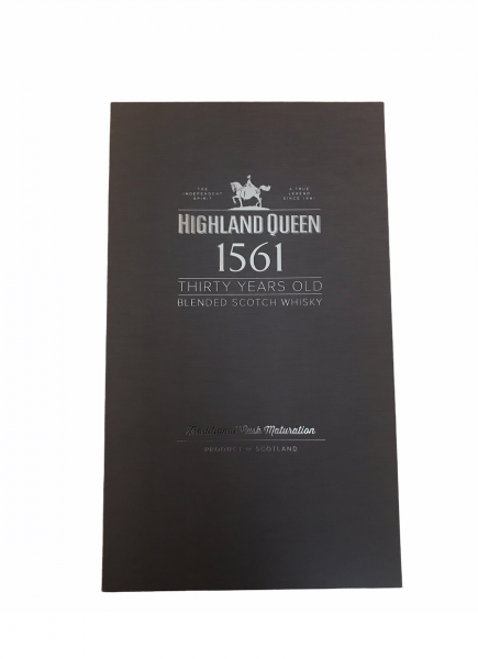 Highland Queen Silver Edition 30 Jahre in Schatulle 0,7l 40% Vol.