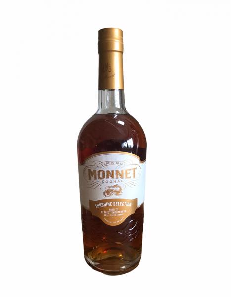Cognac Monnet Sunshine Selection 0,7l 40% Vol.
