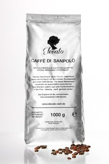 Caffe di San Polo Nero 1000 g Kaffee ganze Bohnen