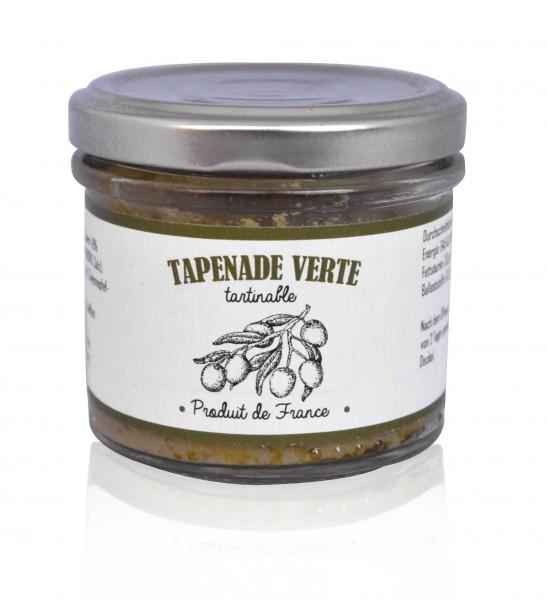 Tapenade Verte - grüne Olivenpaste 100 gr.