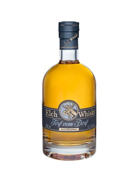 Elch Whisky Torf vom Dorf #8 Single Malt Whisky 50,2% Vol.