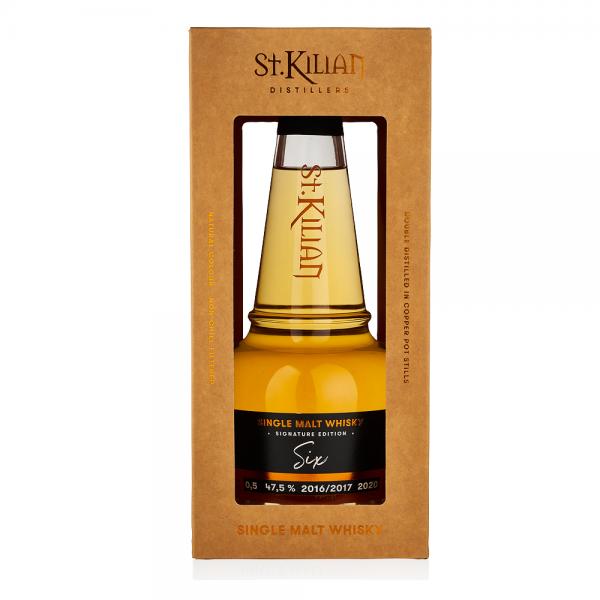 St. Kilian Single Malt Whisky Signature Edition Six 0,5l 47,5% Vol.
