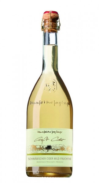 Schwäbischer Cider mild Craft Cider 3,5% Vol. 0,75l