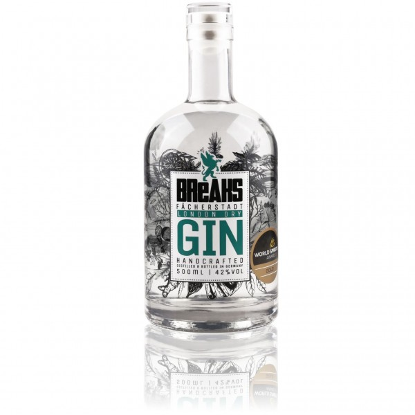 Breaks Premium Dry Gin 0,5l 42 Vol%
