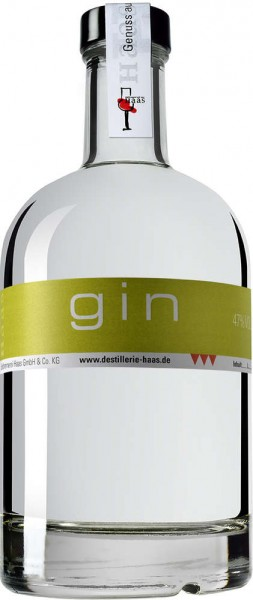 Haas Gin 0,5l 47%