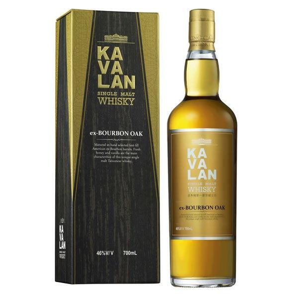 Kavalan ex-Bourbon Oak Single Malt Whisky 0,7l 46% Vol.