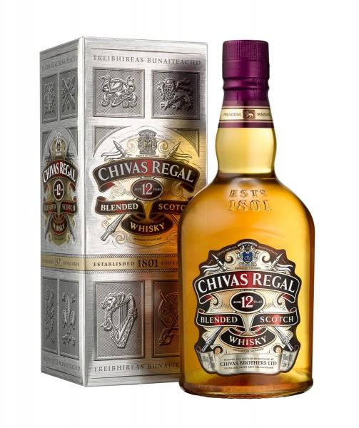 Chevas Regal 12 Jahre Blended Scotch Whisky 0,7l 40% Vol.