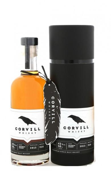 CORVILL Single Malt Whisky 0,5l 43% Vol.