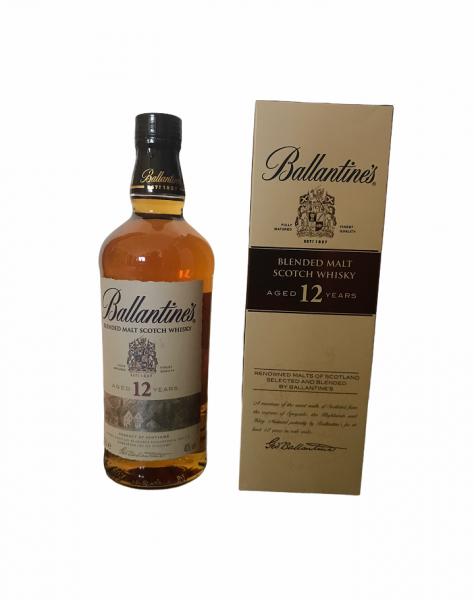 Ballantines Blended Malt Scotch Whisky 12 Jahre 0,7l 40% Vol.