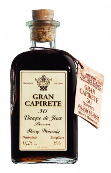 Gran Capirete 50 Vinagre de Jerez Reserva 0,25l