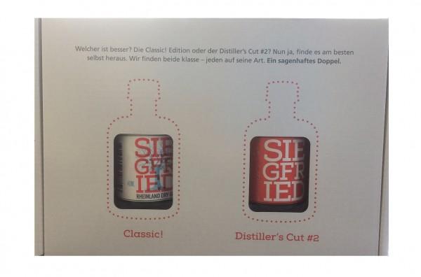 Siegfried und Distiller's Cut#2 Geschenkset 2x 40ml