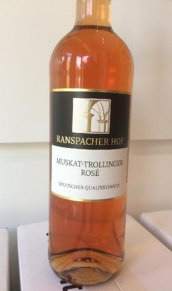 Cleebronner Michaelsberg Muskattrollinger Rose mild 0,75l 2017