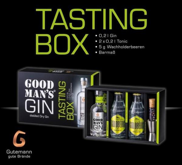 Goodman`s GINspiration in der Tasting Box Gutemann