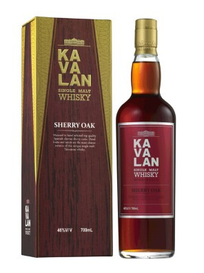 Kavalan Sherry Oak Single Malt Whisky 0,7l 46% Vol.