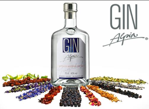 Gin Alpin Guglhof 0,35l 42% Vol.