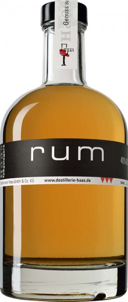 Haas Rum 0,5l 40% Vol.