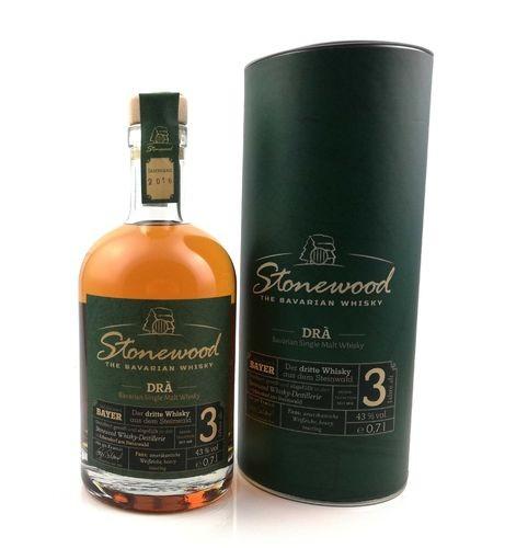 Stonewood Dra Single Malt Whisky 0,7l 43% Vol.