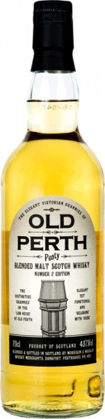 Old Perth Peaty Batch 2 Blended Malt Scotch Whisky 0,7l 43% Vol.