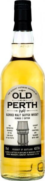 Old Perth Peaty Batch 2 Blended Malt Scotch Whisky 0,7l 43% Vol.