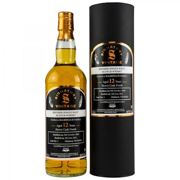 Balmenach Speyside Single Malt Whisky 12 Jahre 46% Vol.