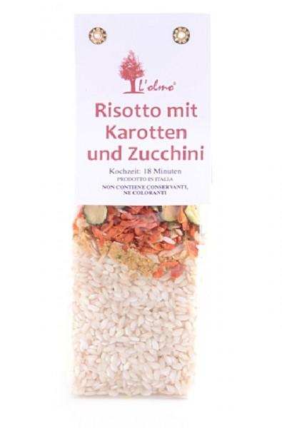 Risotto mit Karotten und Zucchini 300 g