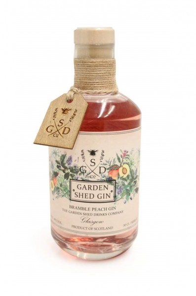 Garden Shed Bramble Peach Gin 40% Vol. 0,5l