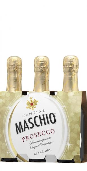 Prosecco Maschio DOC Treviso Extra Dry 3x0,2L
