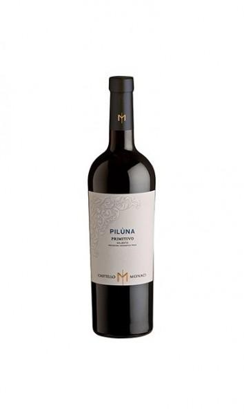 Piluna Primitivo Salento IGT Monaci 2019 0,75l