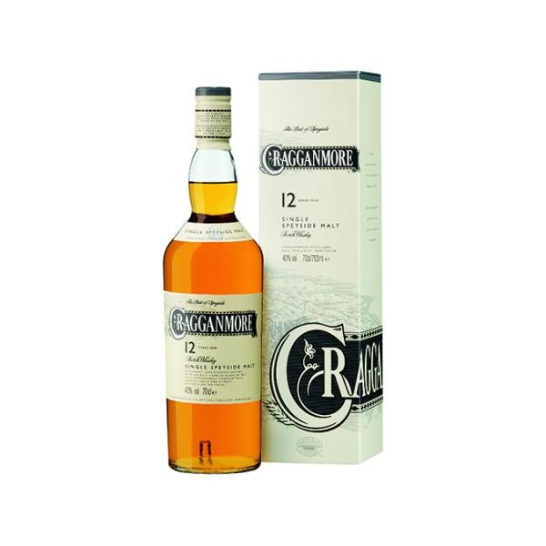Cragganmore 12 Jahre Single Malt Whisky 0,7l 40% Vol.