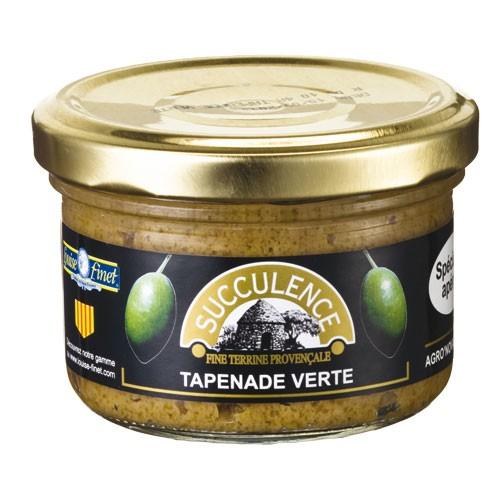 Tapenade Verte - grüne Olivenpaste 90 gr.