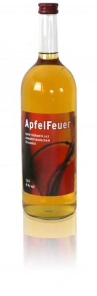 Echt Brombachseer Apfelfeuer Apfel-Glühwein 8% Vol. 1l