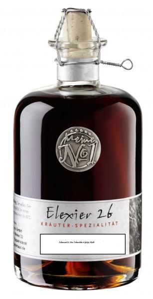 Elexier 26 Kräuter Likör mit Geschenkdose 32% 0,5l